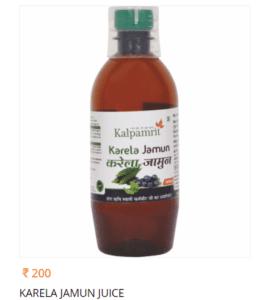 Kalpamrit Karela Jamun Juice